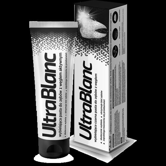 UltraBlanc Whitening fekete fogkrém 75ml