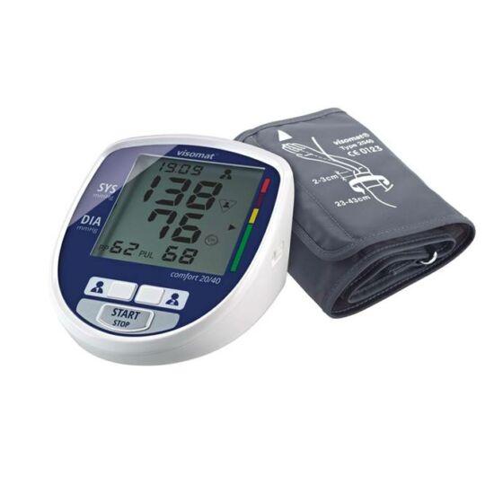 VISOMAT Comfort 20/40 felkaros automata Vérnyomásmérő 23-43cm mandzsettával