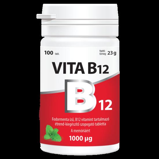 Vitabalans Vita B12 szopogató tabletta 100x