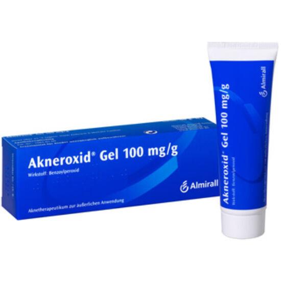 Akneroxid 100 Mg/G Gél 50g