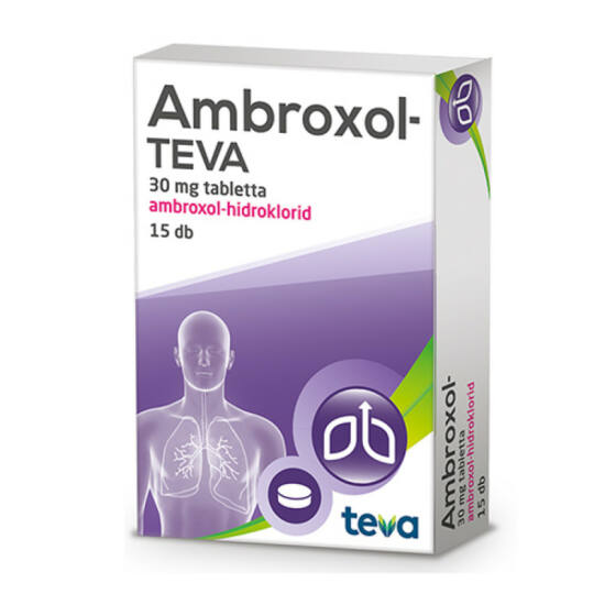 Ambroxol-TEVA 30 mg tabletta 15x