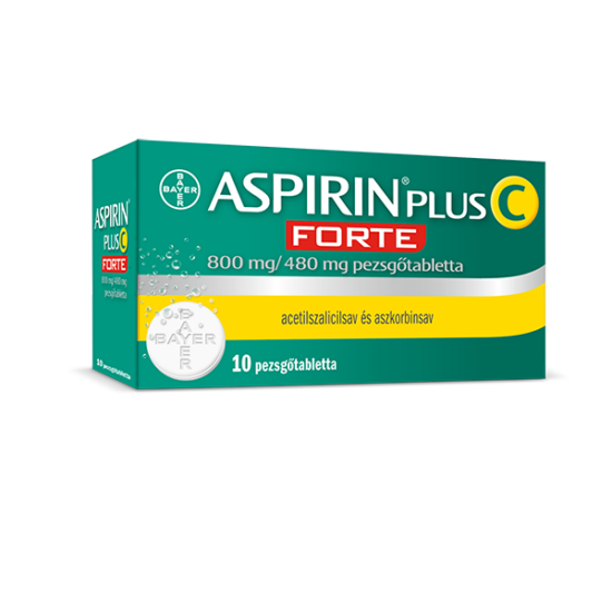 Aspirin® Plus C FORTE 800mg/480mg pezsgőtabletta 10x