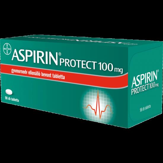 Aspirin® Protect 100 mg gyomornedv-ellenálló bevont tabletta 56x