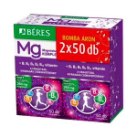 Béres Magnézium Komplex filmtabletta duo 2x50db