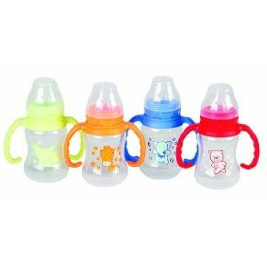 Baby Bruin cumisüveg műanyag,fogóval 125ml 1x