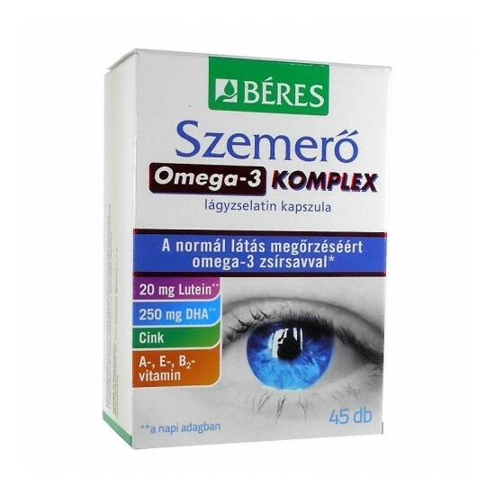 Béres Szemerő Omega3 komplex kapszula 45x