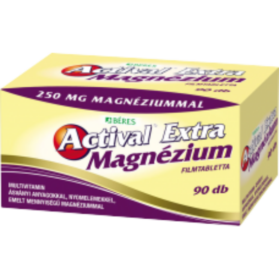 Actival Extra Magnézium filmtabletta 90x