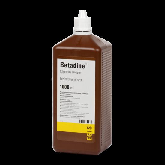 Betadine folyékony szappan 1000ml