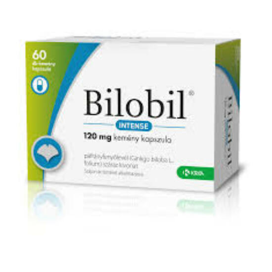 Bilobil Intense 120 mg kemény kapszula 60x