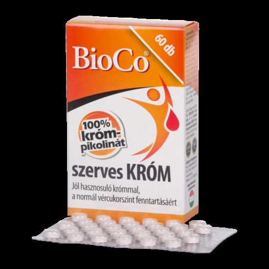 BioCo szerves króm tabletta 60x