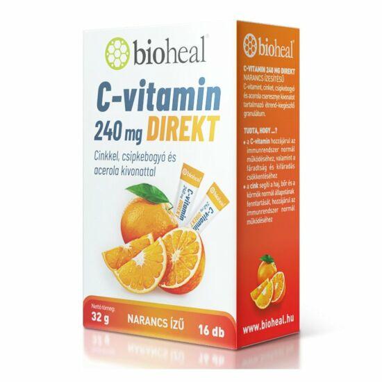 Bioheal C-vitamin 240mg direkt sticks 16x