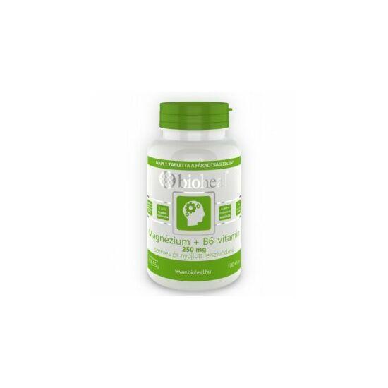 Bioheal Szerves Magnézium + B6 vitamin tabletta 105x