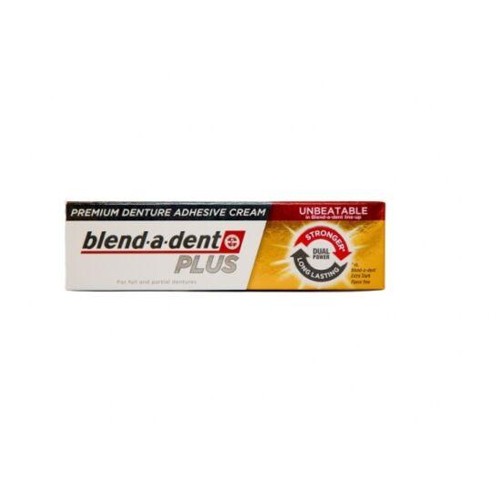 Blend-a-dent Plus Dual Power műfogsorragasztó 40g