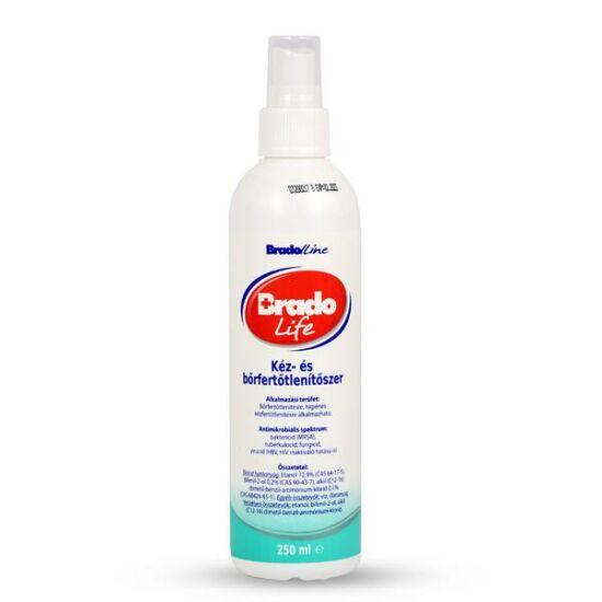 Bradolife fertőtlenítő szappan pumpás 250ml