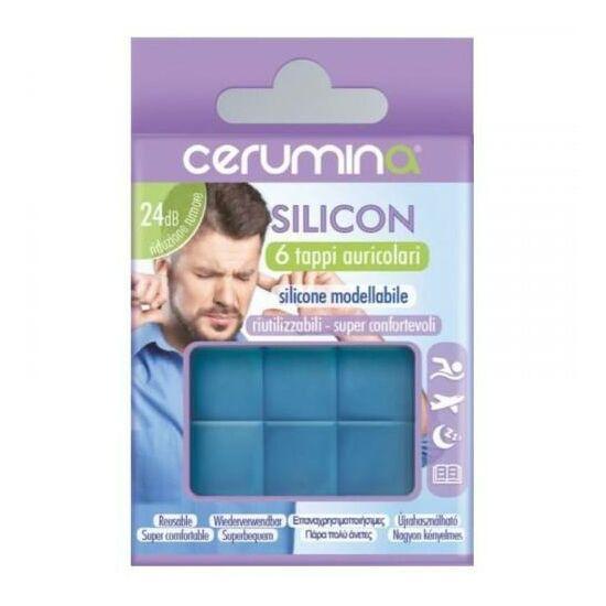 Cerumina szilikon füldugó 6x