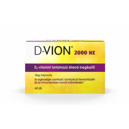 D-vion D3 vitamin 2000NE kapszula 60x