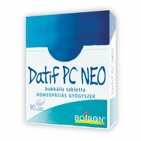 Datif PC NEO bukkális tabletta 90x