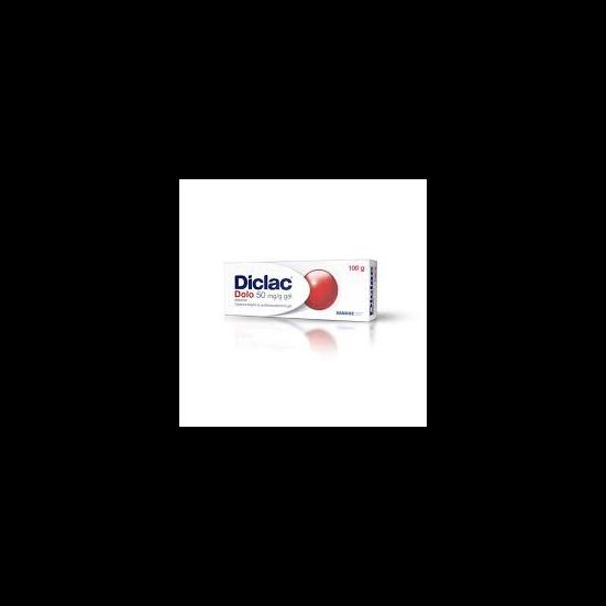 Diclac Dolo gél 50mg/g 50g