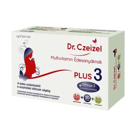 Dr. Czeizel Édesanyáknak Plus 3 multivitamin 3x30