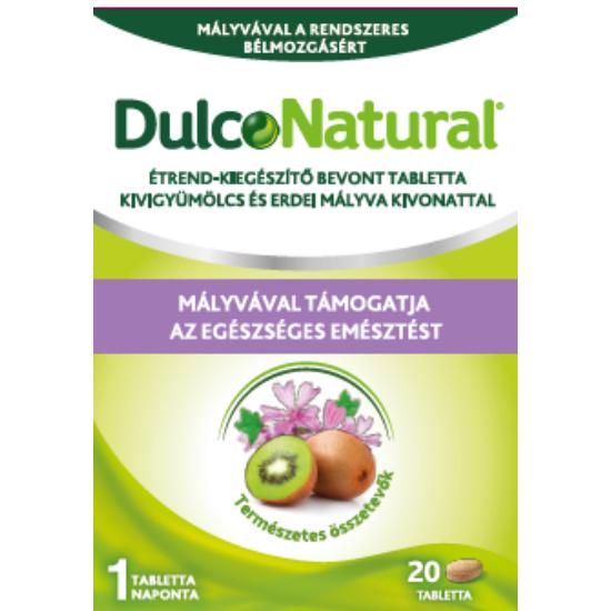 DulcoNatural tabletta kivigyümölcs és erdei mályva kivonattal 20x