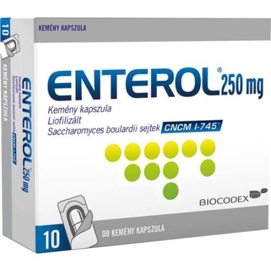 Enterol 250 mg kemény kapszula 10x