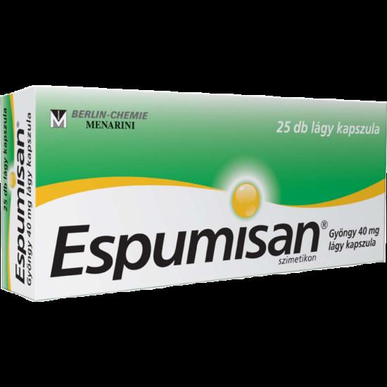 Espumisan Gyöngy 40 mg lágy kapszula 25x