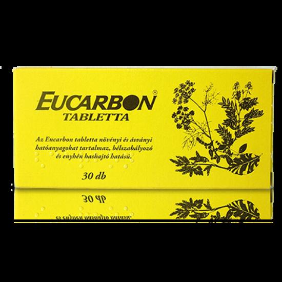 Eucarbon tabletta GYÓGYSZER 30x