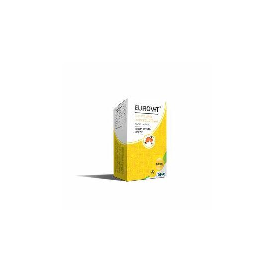 Eurovit C + D vitamin tabletta csipkebogyóval 90x