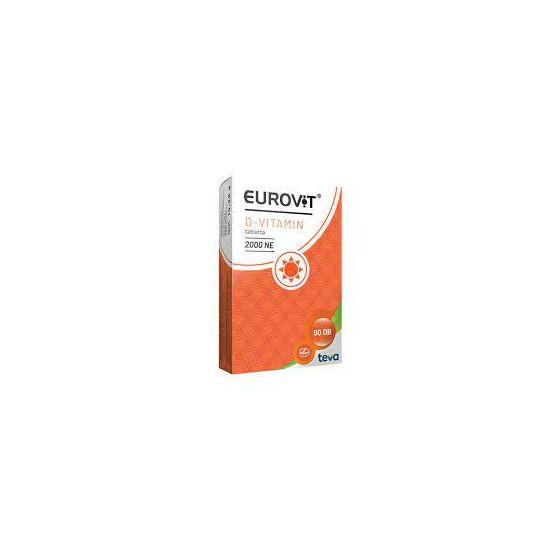 Eurovit D-vitamin 2000 NE tabletta 60x