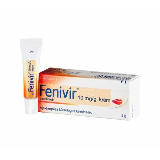 Fenivir 10 mg/g krém 2g