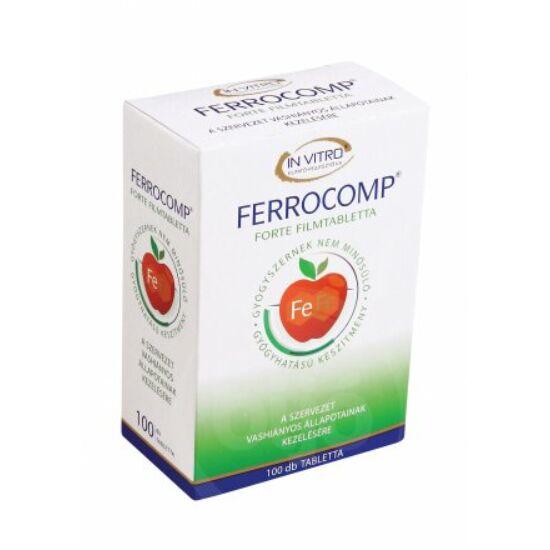 Ferrocomp 10mg forte tabletta 100x