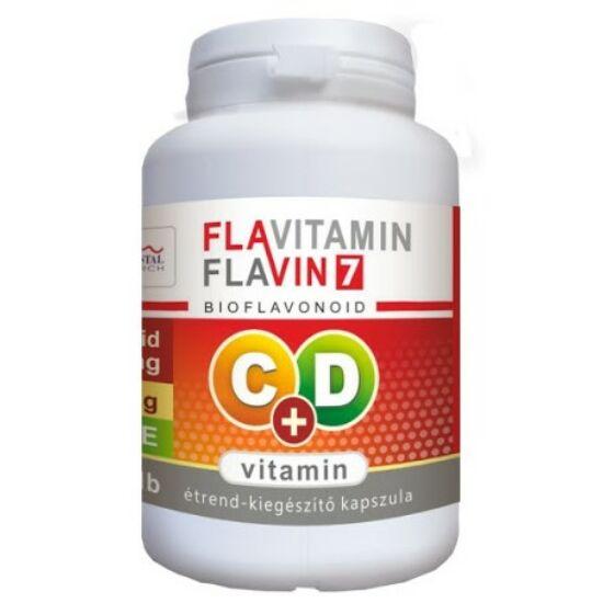 Flavitamin Double Immun C+D vitamin 120 kapszula