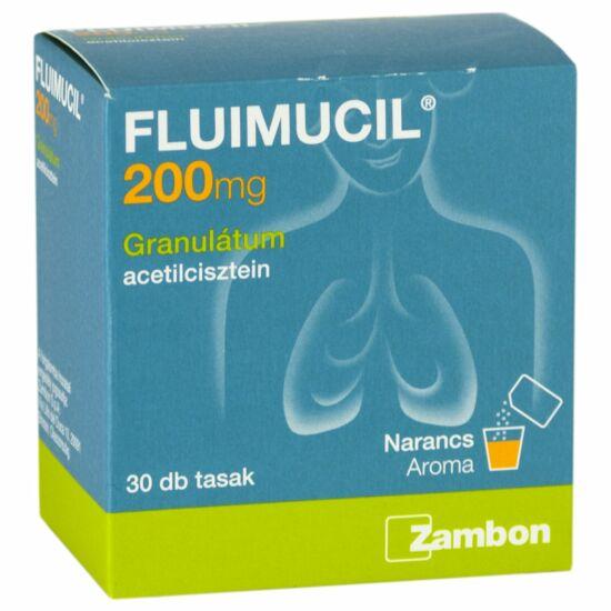 Fluimucil 200 mg granulátum 30x1g