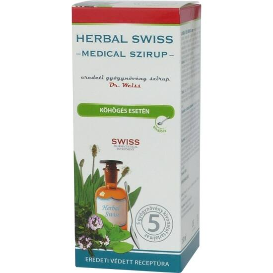 Herbal Swiss medical szirup 300ml
