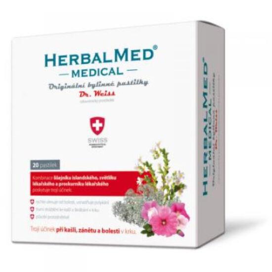 Herbal Med Medical gyógynövény pasztilla 20x