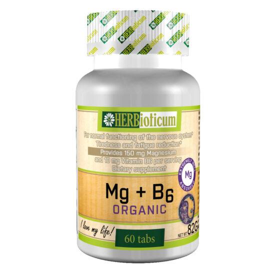 Herbioticum Mg+B6 vitamin tabletta 60x