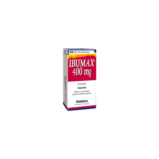 Ibumax 400mg filmtabletta 30x