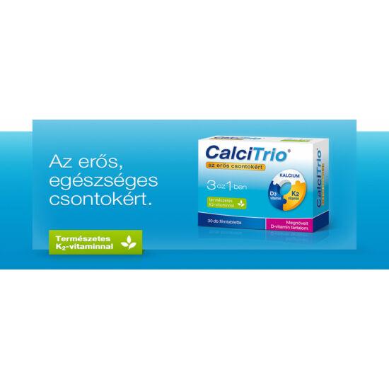 CalciTrio filmtabletta megnövelt D-vitamin tart. 30x