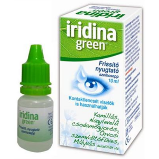 Iridina Green frissítő szemcsepp 10ml