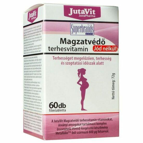 JutaVit Magzatvédő Terhesvitamin jódmentes 60 db