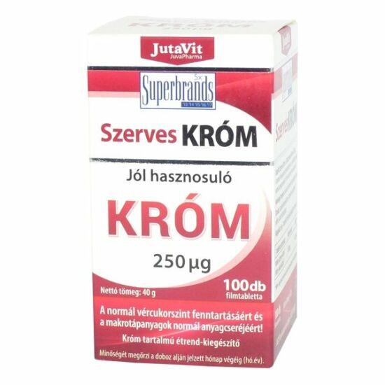 JutaVit szerves króm 250mcg tabletta 100x