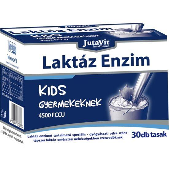 JutaVit Laktáz Enzim Kids gyermekeknek tasak 30x