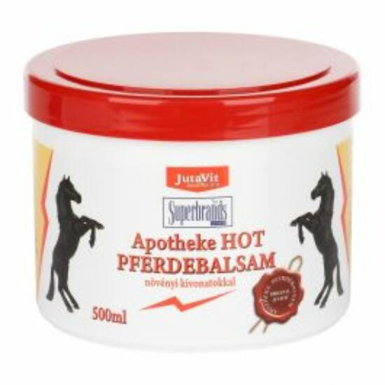 JutaVit Apotheke Hot lóbalzsam (meleg) 500ml
