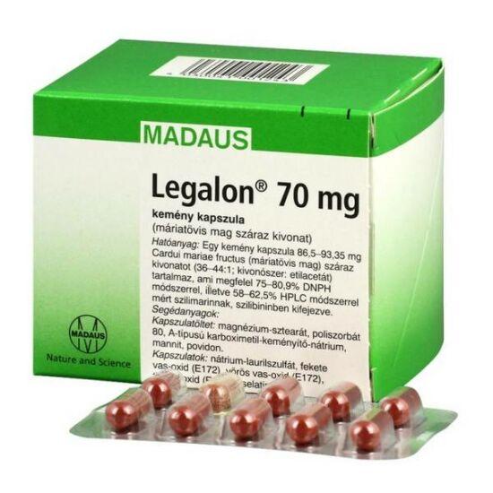 Legalon 70 mg kemény kapszula 100x