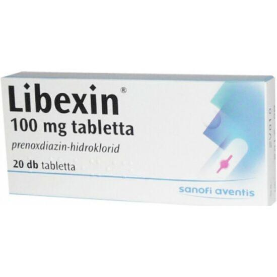 Libexin 100 mg tabletta 20x