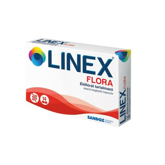 Linex Flora élőflórát tartalmazó kapszula 14x