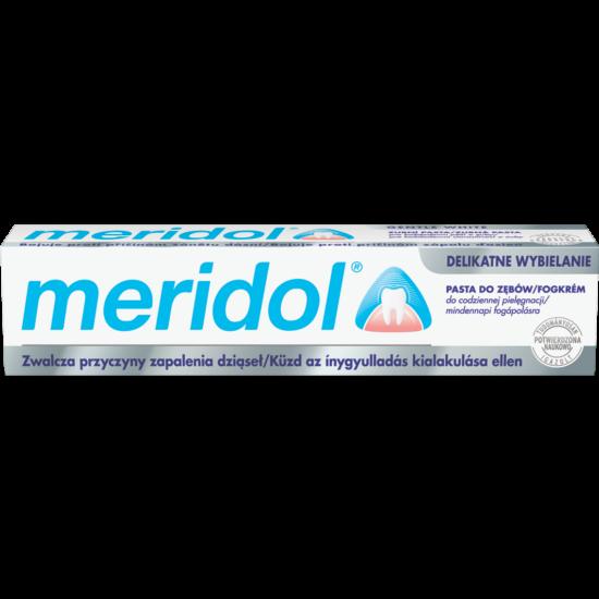 Meridol fogkrém Gentle White   75ml