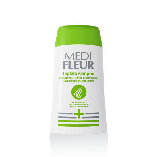 MEDIFLEUR tápláló sampon szeborreás fejbőr mindennapi tisztítására és ápolására 150ml