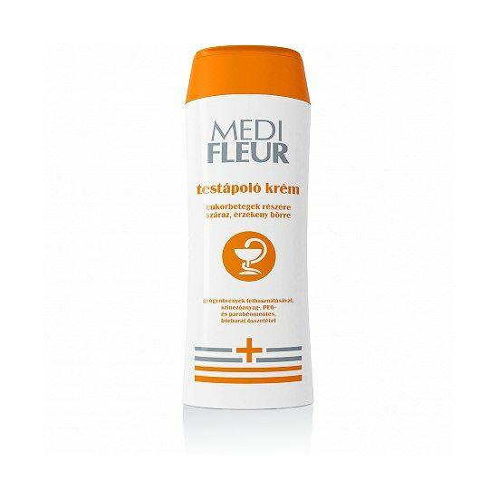 Sunfleur Medi Fleur testápoló krém cukorbetegek részére száraz, érzékeny bőrre 200ml