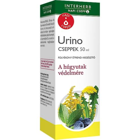 Urino napi csepp Interherb 50ml